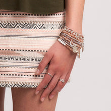 Boho style jewellery designed to layer, stack, mix and match.