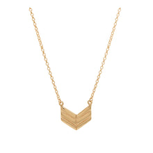 Rose Gold Arrow Necklace | Chevron Jewellery For Her
