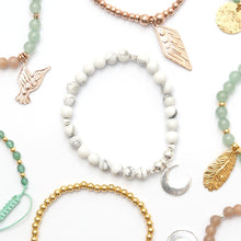 Wear our beautiful Serenity Bracelet with the meaningful Moon charm, the protector and guardian of the Earth.