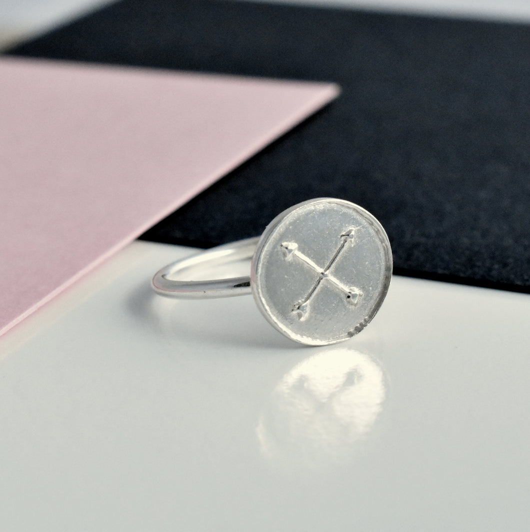 Silver Friendship Amulet Ring | Gift For A Friend