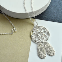 Sterling Silver Dream Catcher Necklace | Meaningful Jewellery Gift