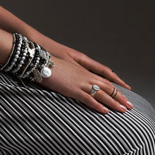 Sterling Silver Stacking Bracelets and Rings