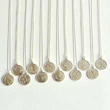 Sterling Silver Horoscope Star Sign Necklaces