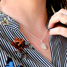 Birthday Gift For Her | Silver Flower Necklace