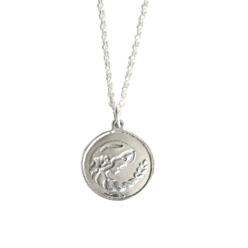 Virgo Horoscope Zodiac Necklace | Star Sign Necklace