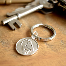 Capricorn Zodiac Keyring | Gift For Men