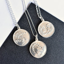 Handmade Silver Zodiac Necklaces