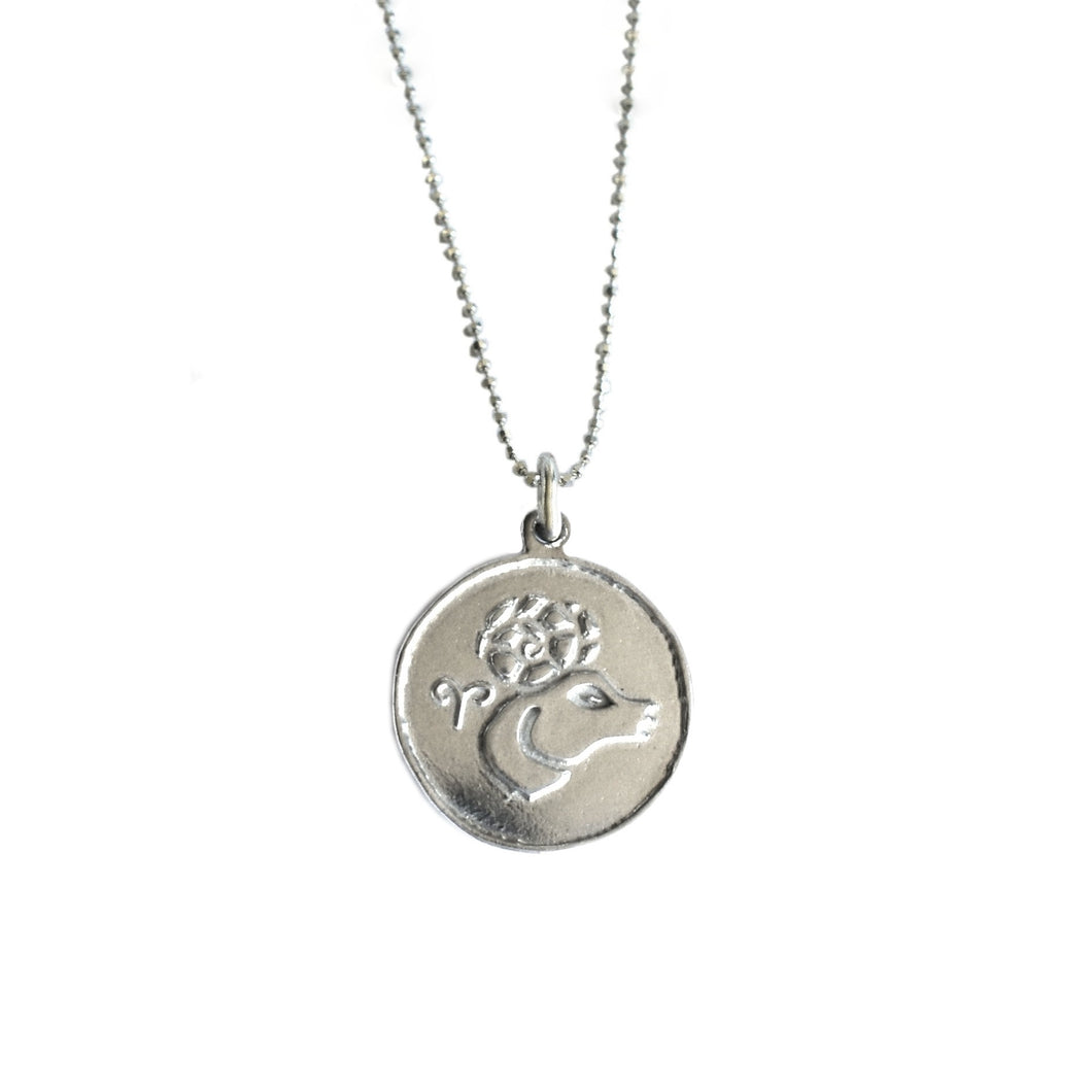 Aries Zodiac Necklace | The Ram Star Sign Necklace