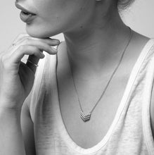 Everyday jewellery from Essentia By Love Lily Rose. Handmade Arrow Necklace