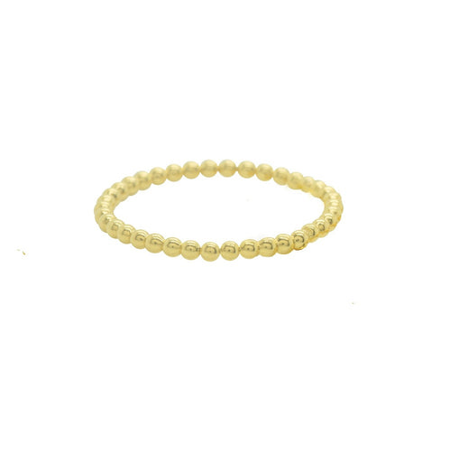 Handmade Gold Vermeil Stacking Ring