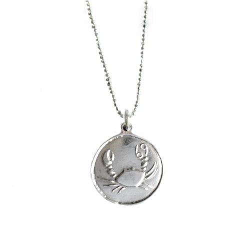 Cancer Zodiac Necklace | Horoscope Jewellery