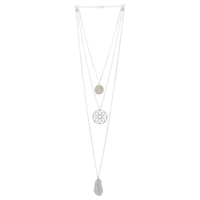 Interchangeable Layered Necklace - Oriana Halo