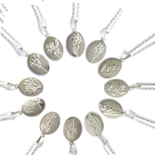 Handmade Silver Birth Flower Necklaces | Essentia By Love Lily Rose