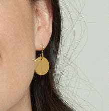 Gold Vermeil Halo Earrings