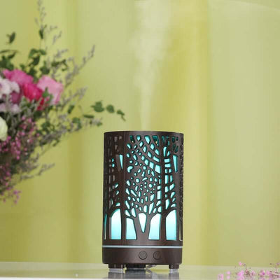 tree of life dark woodgrain effect diffuser