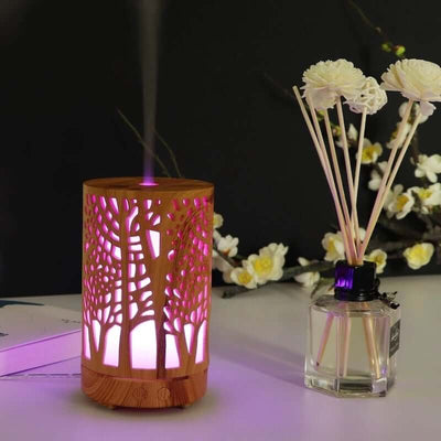 Tree of life Aromatherapy Diffuser Light 2