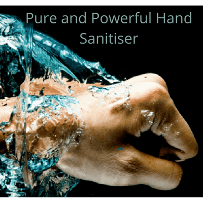Organic hand sanitiser - from Living Vitality