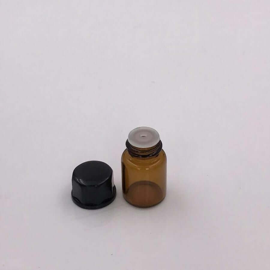 50 Amber Glass Vials - 2.5ml
