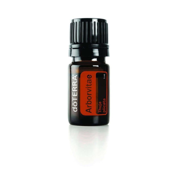 doTERRA Arborvitae Essential Oil - Protects Against Environmental and Seasonal Threats, Powerful Cleansing and Purifying Agent, Natural Insect Repellent and Wood Preservative