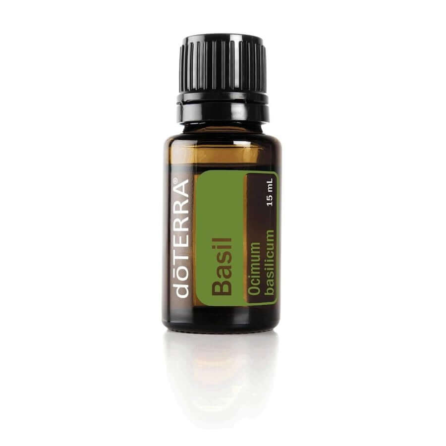 doTERRA Basil Essential Oil - Soothes Sore Muscles And Joints, Assists With Breathing And Acts As A Cooling Agent For The Skin