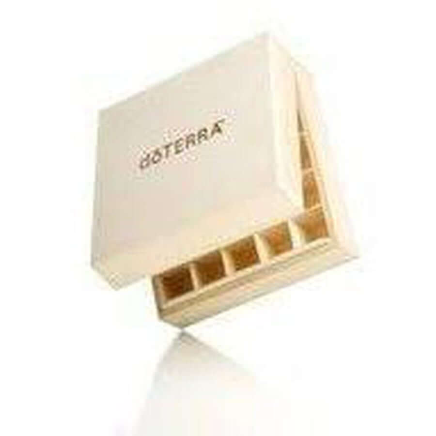 doTERRA Essential Oil Wooden Storage Box-Living Vitality Australia
