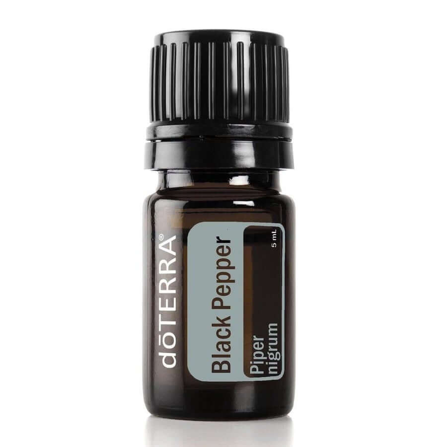 doTERRA Black Pepper Essential Oil - Supports Circulation & Aids Digestion-Living Vitality Australia