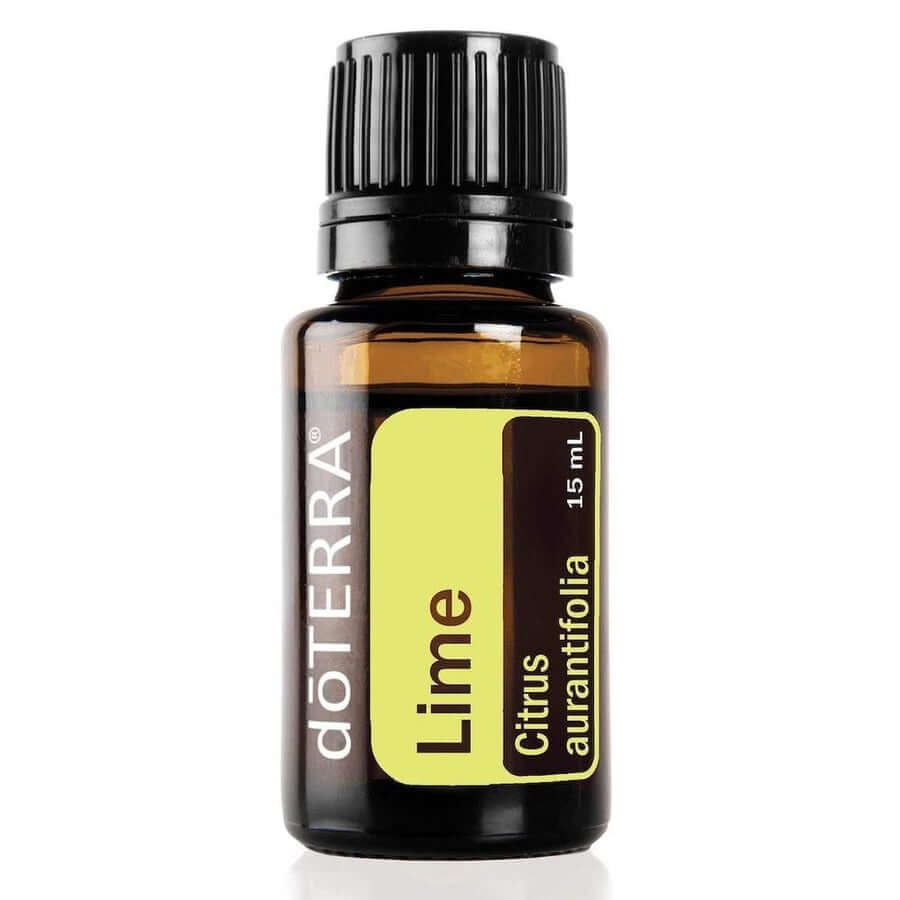 doTERRA Lime Essential Oil - Used As An Aromatic, Topical, And Internal Cleanser, Promotes Emotional Balance And Well-Being-Living Vitality Australia