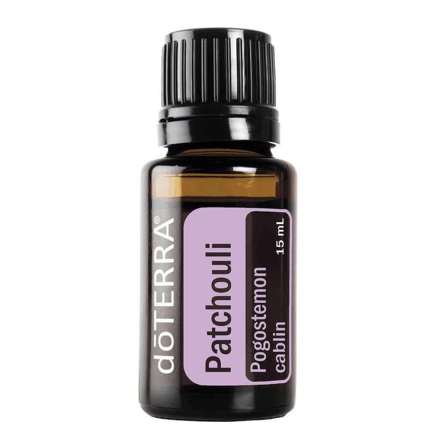 doTERRA Patchouli Essential Oil - Has A Grounding And Balancing Effect On Emotions, Promotes A Smooth, Glowing Complexion And Reduces The Appearance Of Wrinkles, Blemishes, And Skin Imperfections-Living Vitality Australia