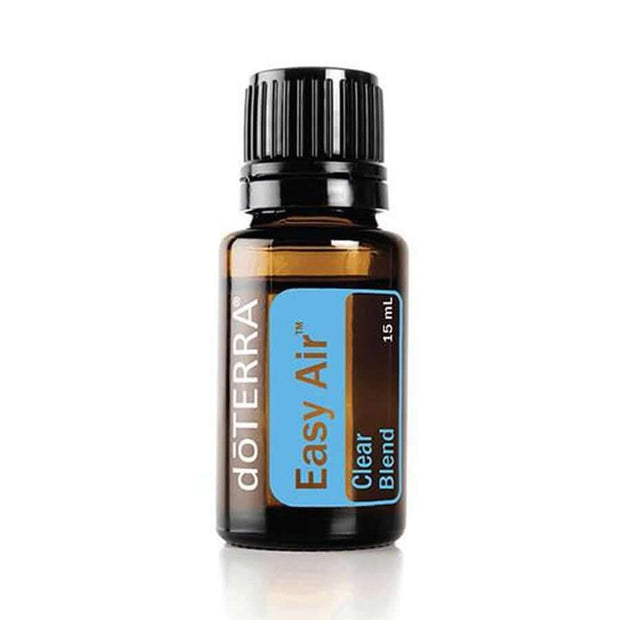 doTERRA Easy Air Respiratory Blend - Maintains Feelings Of Clear Airways And Easy Breathing And Promotes A Restful Nights Sleep When Congested
