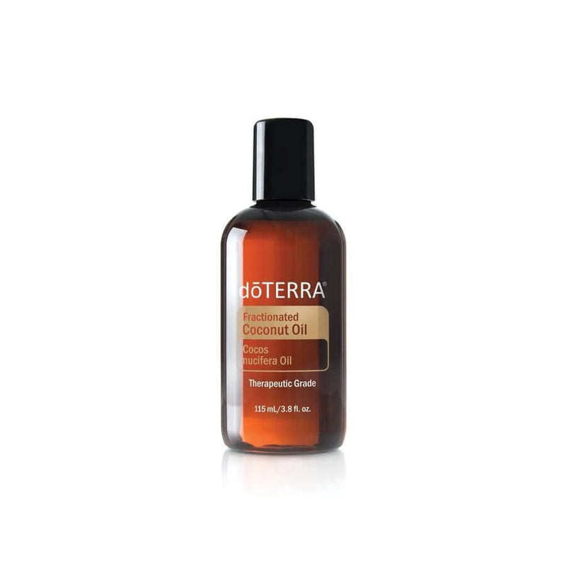 doTERRA Fractionated Coconut Carrier Oil - for blends, sensitive skin and children-Living Vitality Australia
