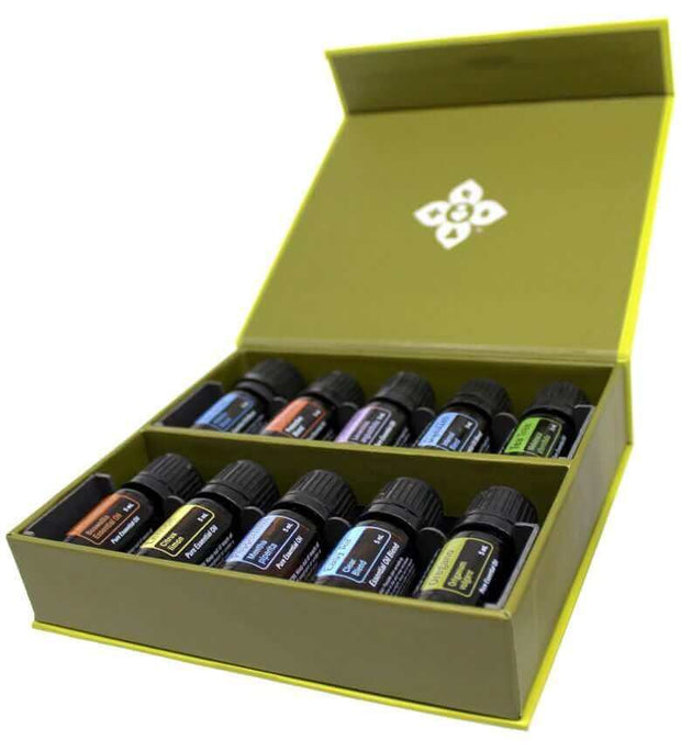 doTERRA Family Essentials Collection Kit - A variety of 10 practical multi-purpose oils to get you started on your essential oil journey