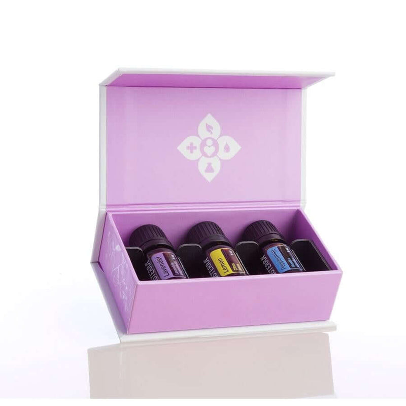 doTERRA Intro Kit - Lemon Lavender and Peppermint Essential Oils from Living Vitality Australia