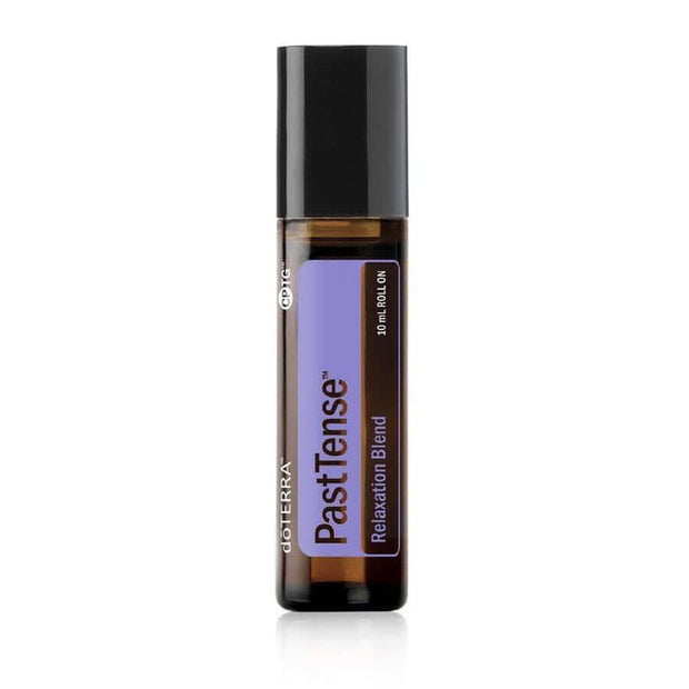 doTERRA Past Tense Tension Blend - Migraine & Stress Relief, Helps Provide Grounding And Balanced Emotions And Helps Ease Stressful Feelings