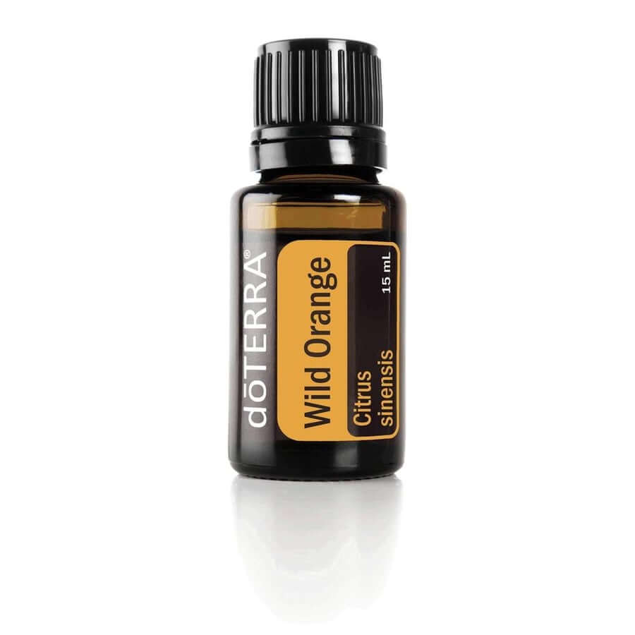 doTERRA Wild Orange Essential Oil - Powerful Cleanser And Purifying Agent, Provides Antioxidants, Which Are Essential To Overall Health And Uplifting To The Mind And Body