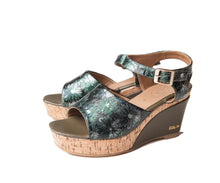 Matsuri Green (Wedge)- Size S & M  Only! - greyortenhill