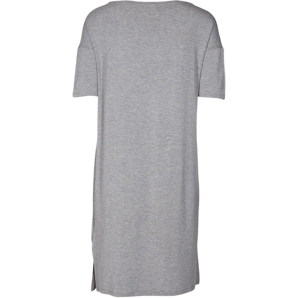 lulu's drawer Alice T-Shirt kjole Dress Grey melange