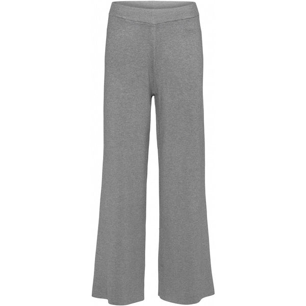 NORR Als knit pants Knit Light Grey Melange