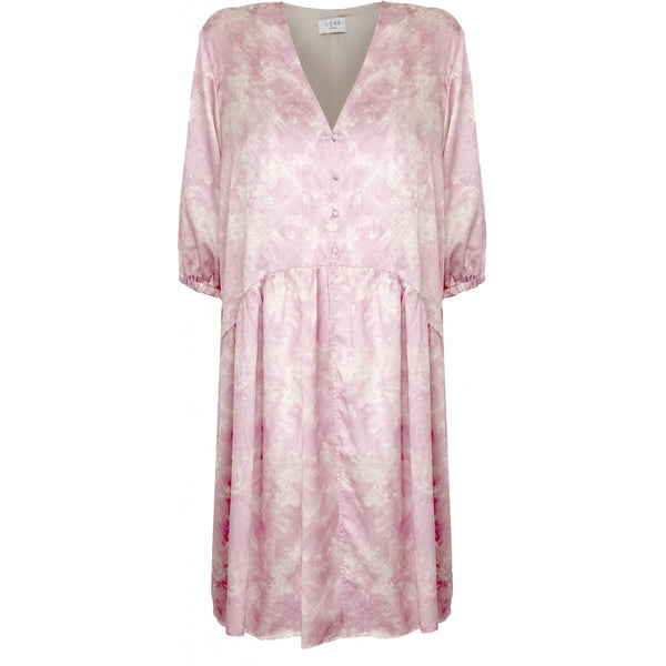 NORR Callie LS dress Dress Pink print