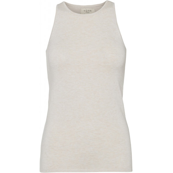 NORR Chelsea knit tank top Tanktop Off white
