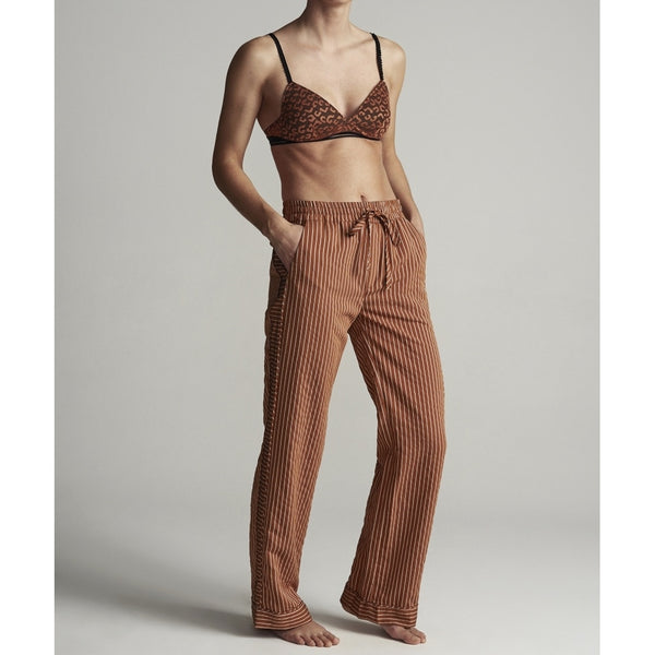 lulu's drawer Havanna pants Pants Rust stripe