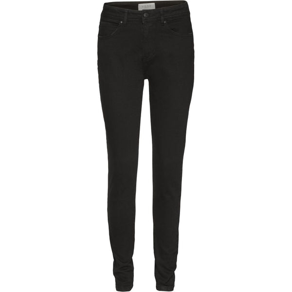 NORR Iva high rise skinny jeans Pants Black