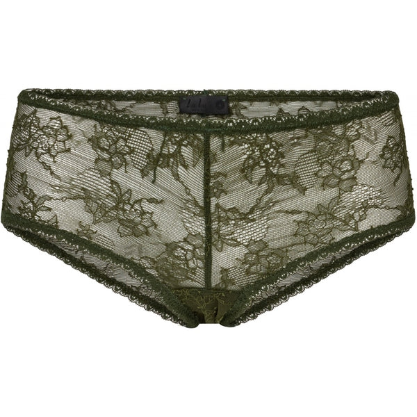 lulu's drawer Leah hipster Panties Khaki Green