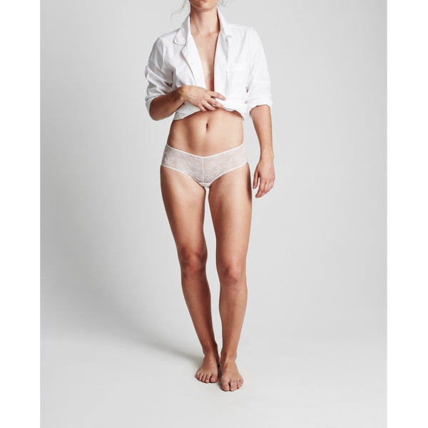lulu's drawer Leah hipster Panties White