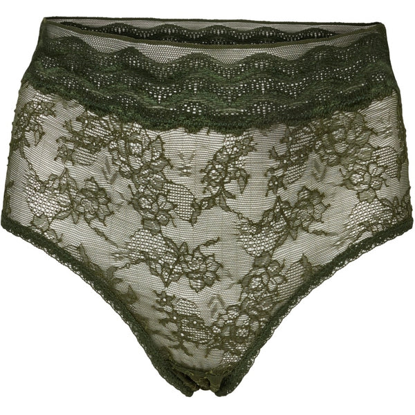 lulu's drawer Leah høj trusse Panties Khaki Green