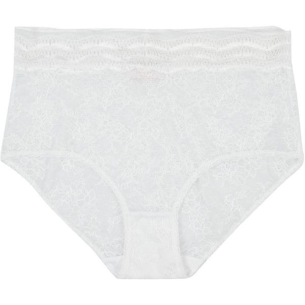lulu's drawer Leah høj trusse Panties White