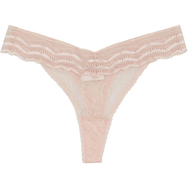 lulu's drawer Leah string Panties Blush