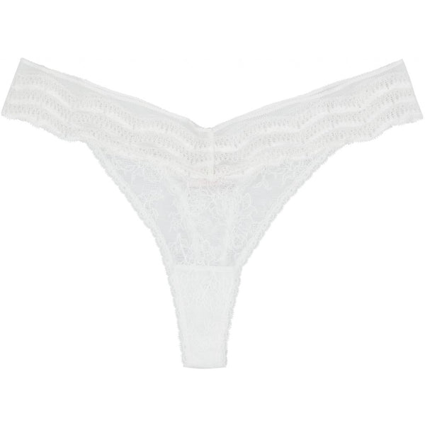 lulu's drawer Leah string Panties White