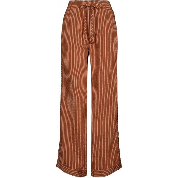 lulu's drawer Lounge Lulus Drawer Havanna pants Pants Rust stripe