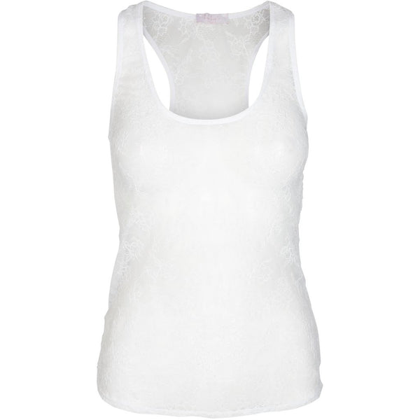 lulu's drawer Lynn undertrøje Singlet White