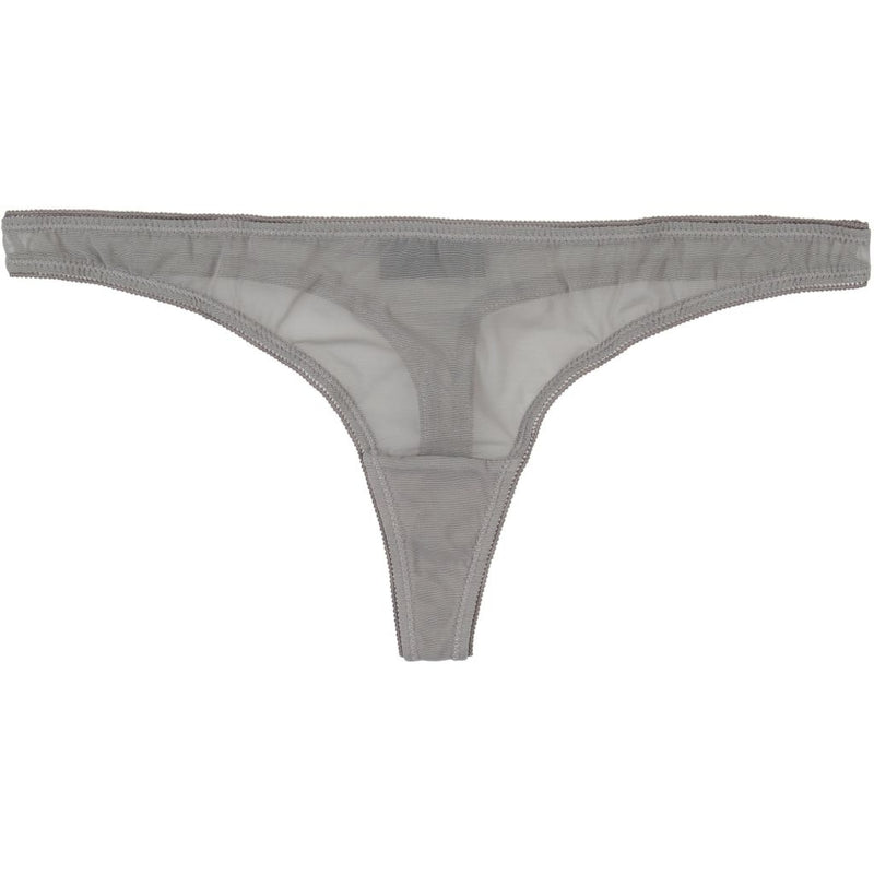 lulu's drawer Mae string Panties Grey